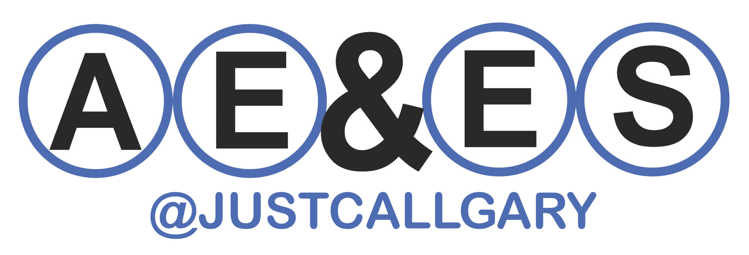 2020 AEES Logo with justcallgary